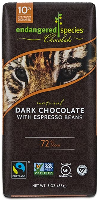 Image result for image of endangered species dark chocolate