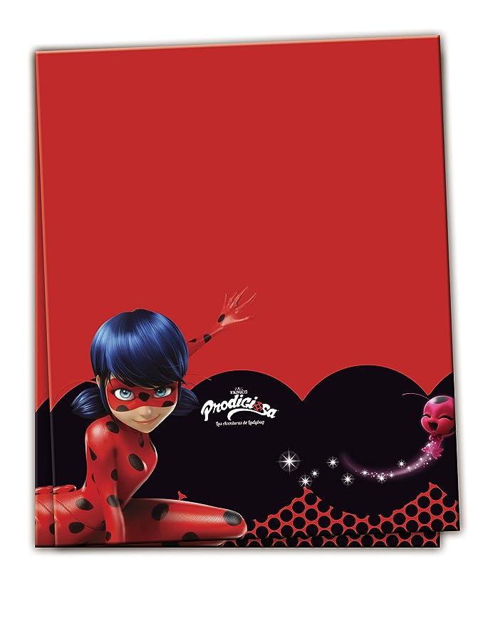 Mantel Plastico 120x180 Ladybug