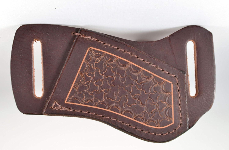 Amazon.com: Funda de cuero marrón de búfalo de agua ...