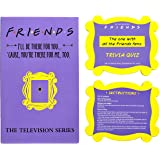 Friends TV Show Merchandise Trivia Quiz Game with 100 Questions for Friends Fans