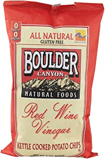 product image for Boulder Canyon All Natural Gluten Free Kettle Chips Red Wine Vinegar -- 5 oz (Pack of 2)