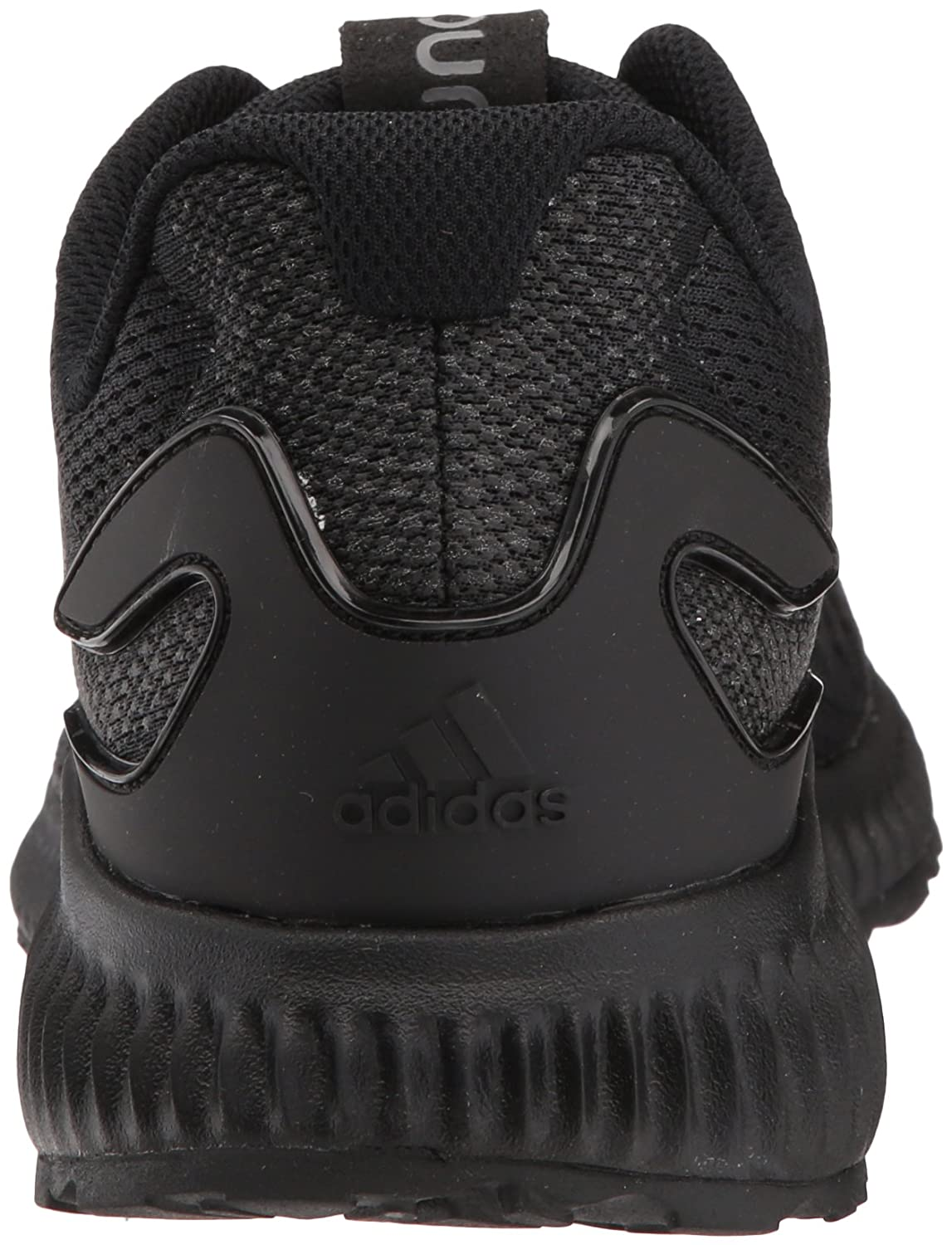 adidas Women's Aerobounce W Running Shoe B0716YFCGG 5 B(M) US|Core Black/Core Black/Grey Four