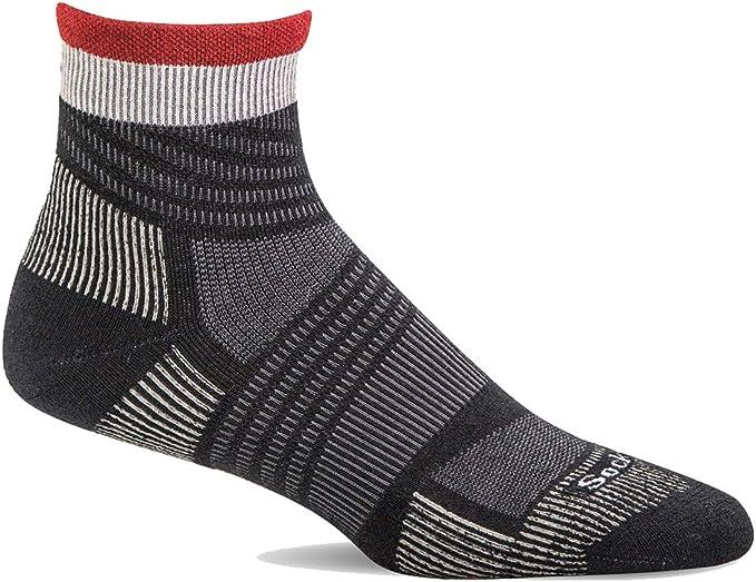 Sockwell Mens Summit Quarter Compression Socks