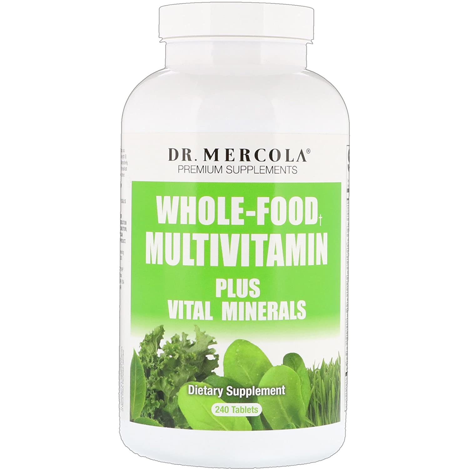 Dr. Mercola, Premium Supplements, Whole Food Multivitamin Plus, 240 Tablets B004NE9Y1A