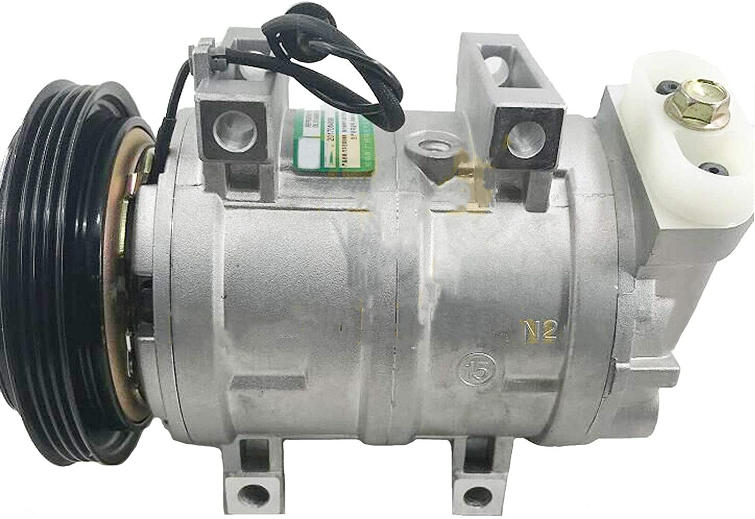 506211-7270 A//C Compressor with Clutch Assy for Nissan 2000UD// 1800HD Air Conditioning Compressor with Clutch Assy AC Compressor Spare Parts with 3 Month Warranty