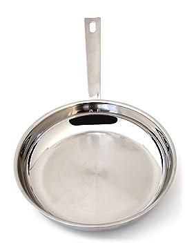 Baumstal 9211 Poêle Inox 18 10 24 cm  Amazon.fr  Cuisine   Maison 2ac200fca6bd