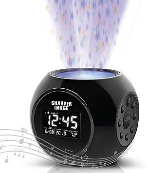 Amazon.com: Reloj despertador con imagen más nítida con ...