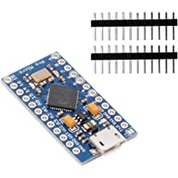 KeeYees Pro Micro ATmega32U4 Module de Développement 5V 16MHz Micro USB pour Arduino IDE Leonardo Bootloader