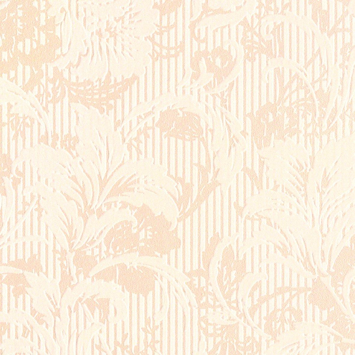 リリカラ 壁紙25m フェミニン 花柄 ベージュ 水廻り LV-6237 B01IHQTIFQ 25m|ベージュ