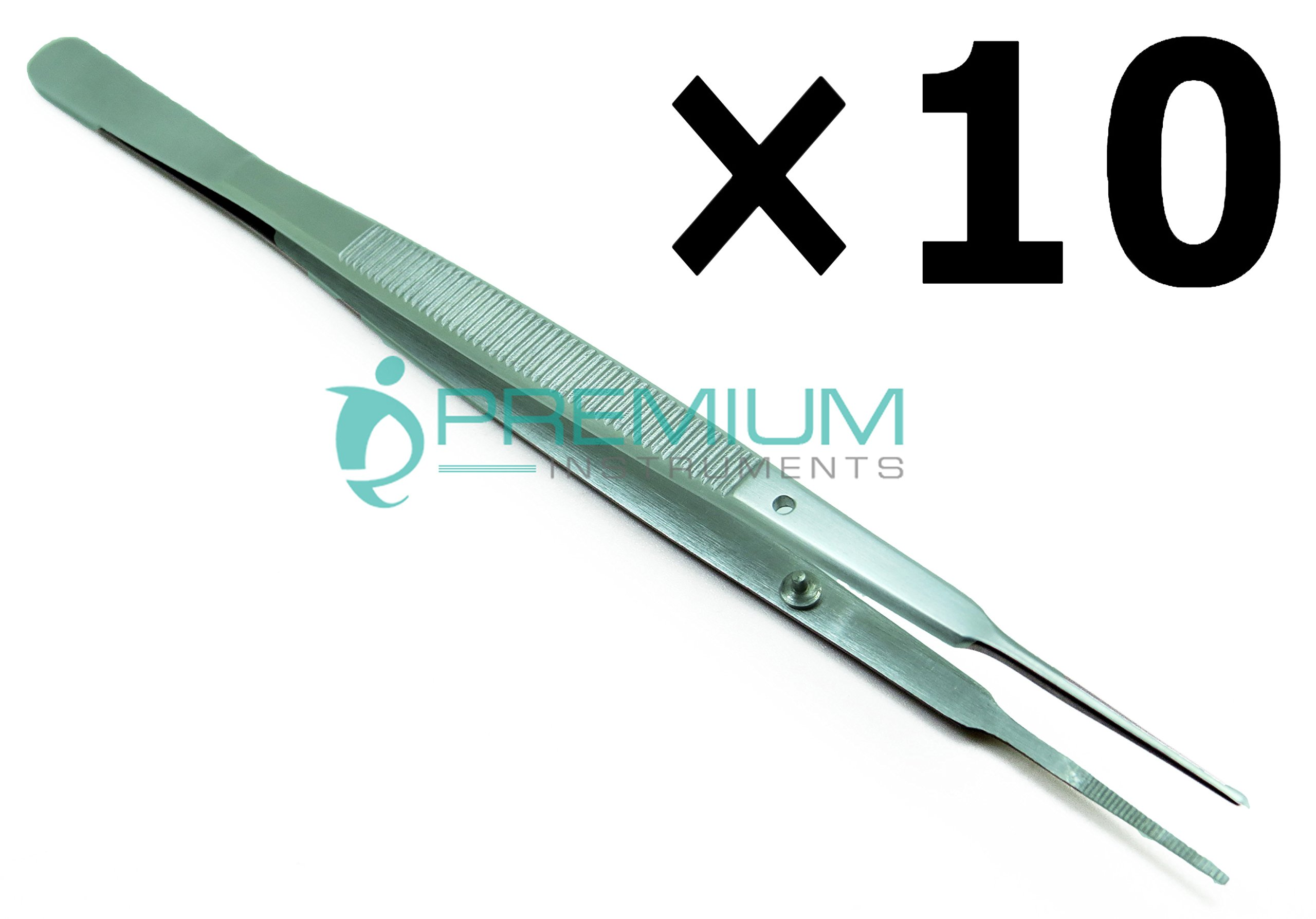 10× Gerald Dressing Tweezer 7'' Forceps Surgical & Veterinary Premium Instruments