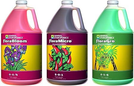 General Hydroponics Flora Series - 1 Gal - 3 Pack