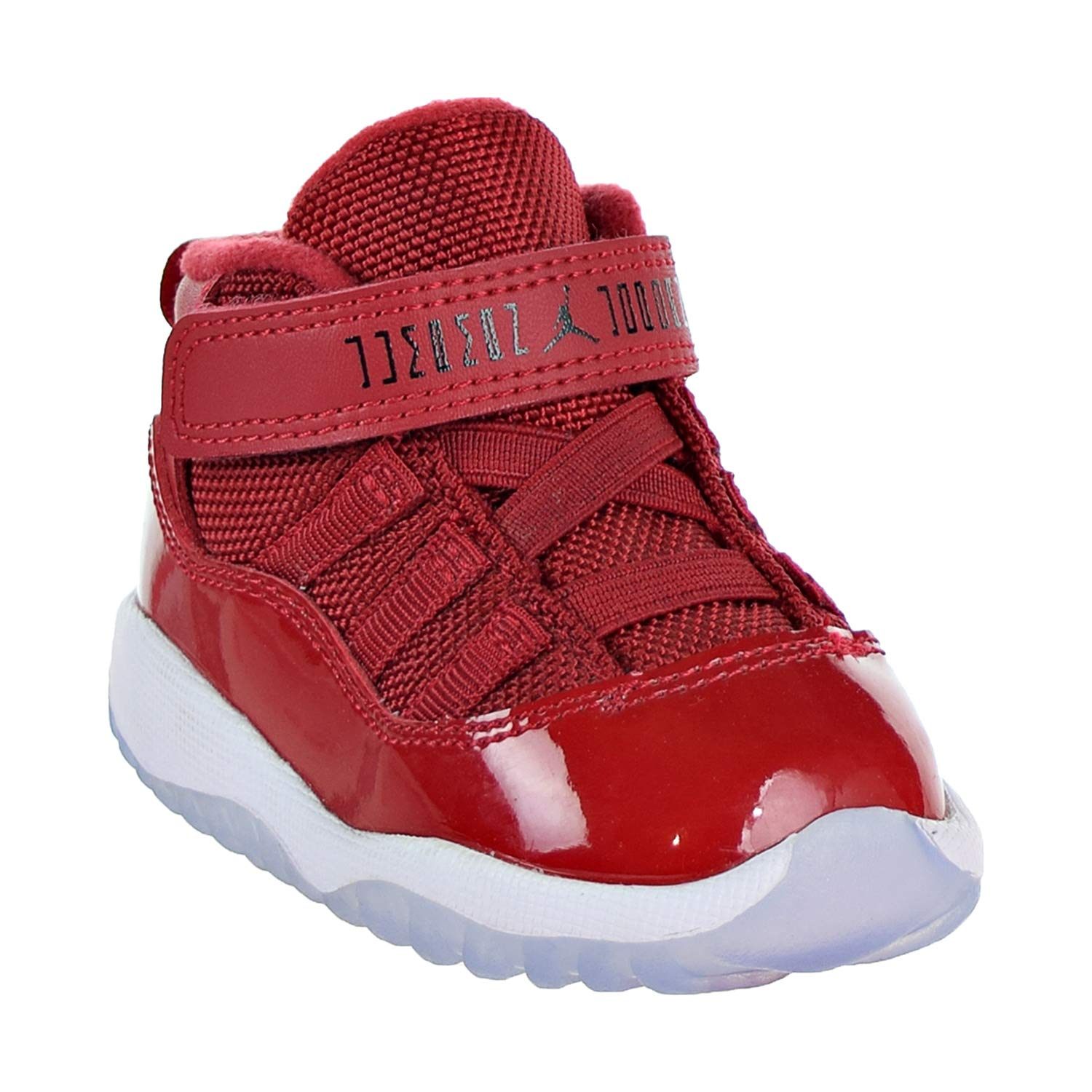 uk availability 58f69 4e8e6 NIKE Jordan 11 Retro BT Toddler's Shoes Gym Red/Black/White 378040-623