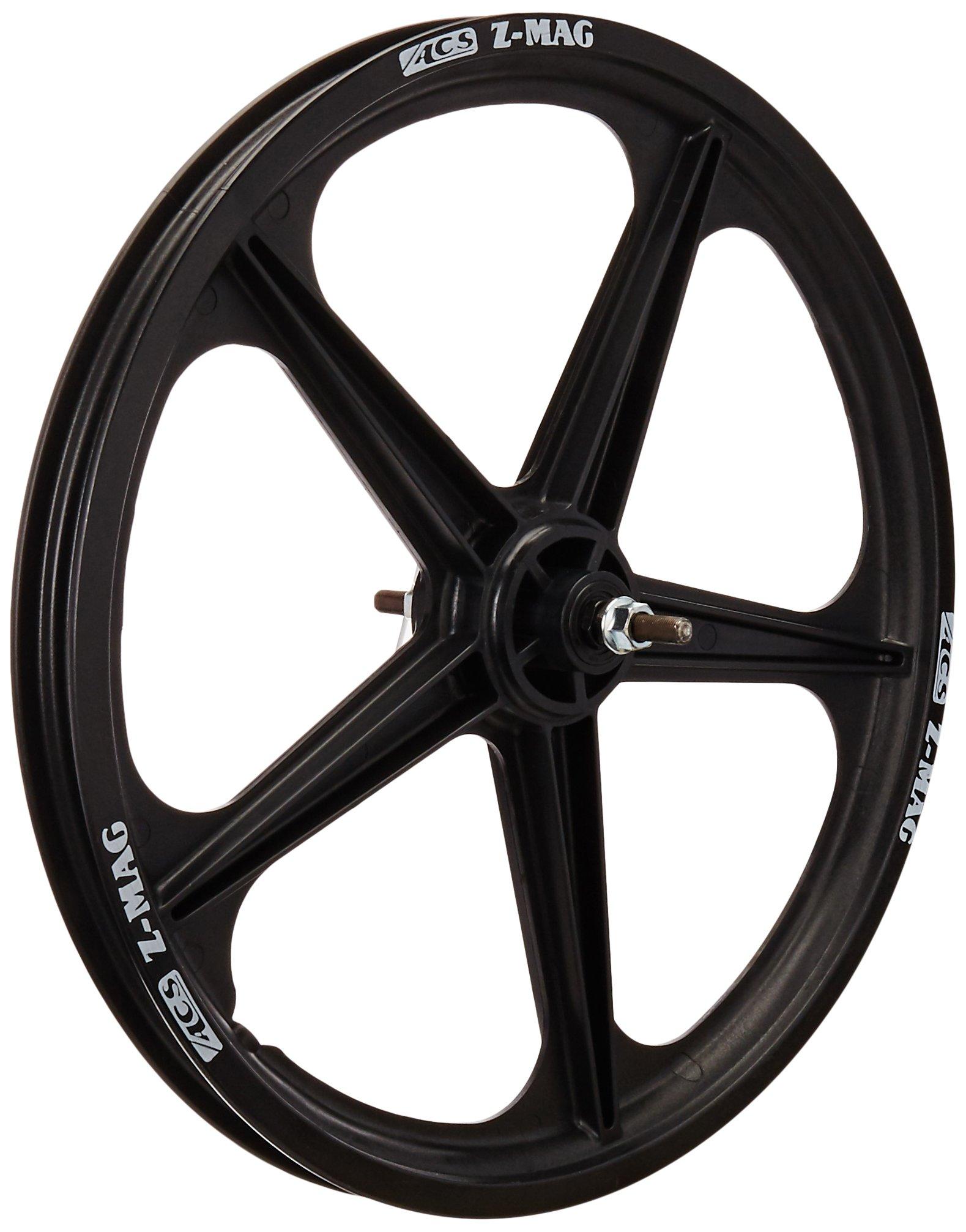 ACS Mag 5-Spoke Front Wheel, Black