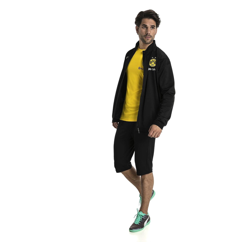 Jacke Bvb Poly Jacket Logo With Pockets Sponsor Side Herren Z Puma 2 5qFAE6wPnn