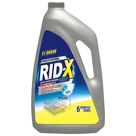 Amazon.com: rid-x sistema de séptico Comercial líquido ...
