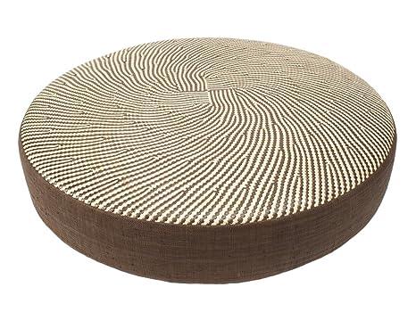 Amazon.com: kouboo Woven cojín de piso, diámetro de 26 ...