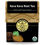 Kava Kava Root Tea - Kosher, Caffeine-Free, GMO-Free - 18 Bleach-Free Tea Bags