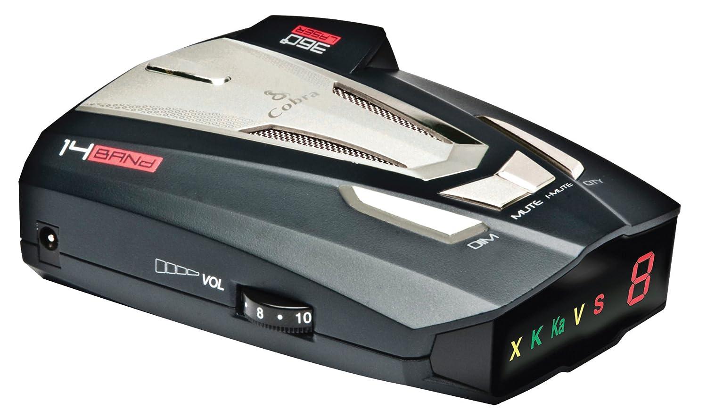 Amazon.com: Cobra Digital XRS 888 Radar Detector (Black): Cell Phones &  Accessories