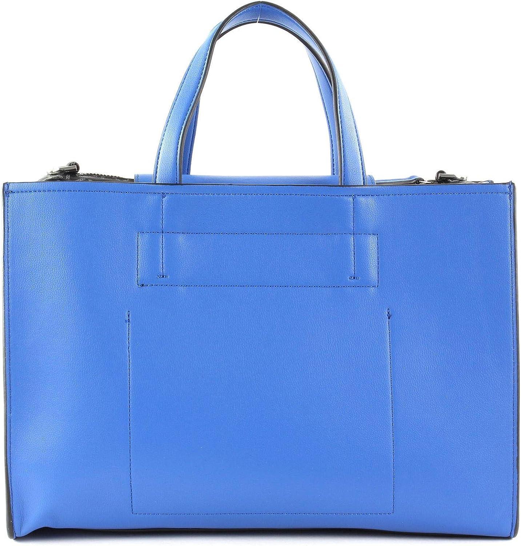 Calvin Klein - Attached Tote, Borse a tracolla Donna Blu (Montana Sky)