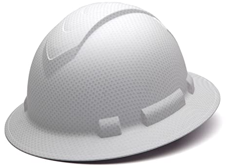 Pyramex Safety HP54116 Ridgeline Full Brim Hard Hat (White Graphite  Pattern) - - Amazon.com 36e17a725db8