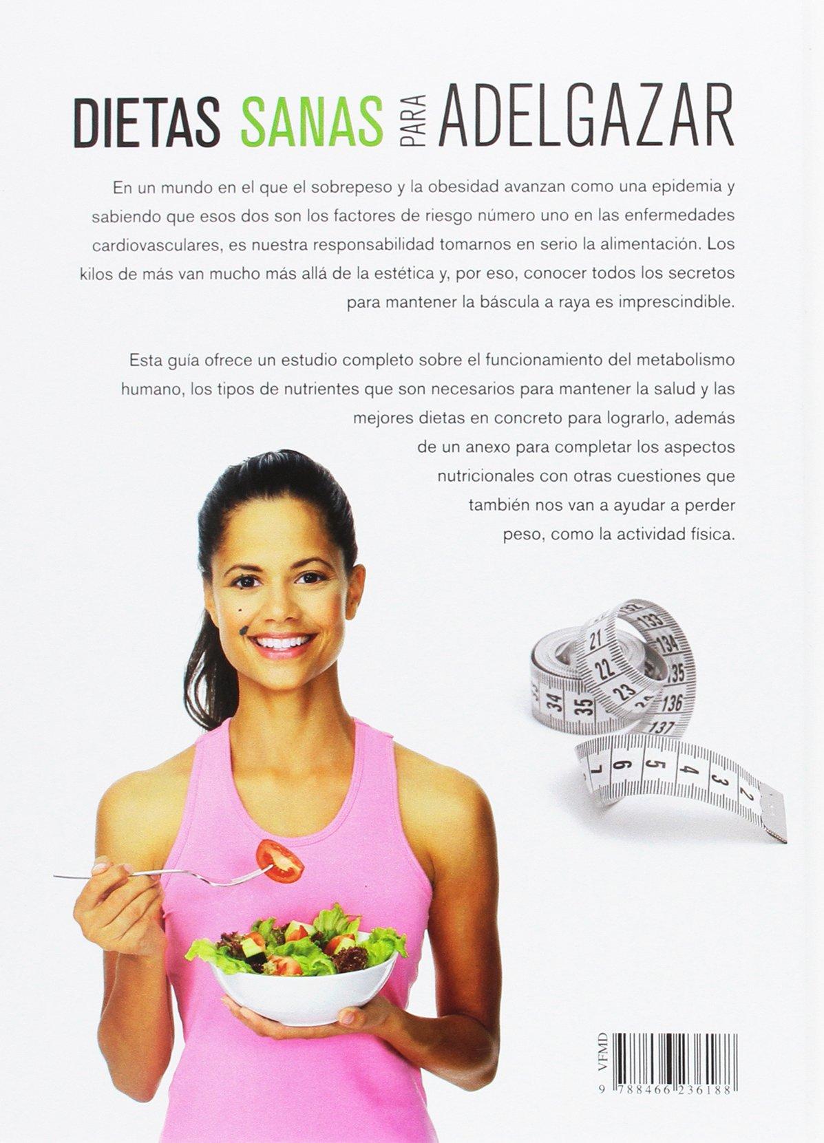 Dietas Sanas para Adelgazar: CARLA NIETO: 9788466236188 ...