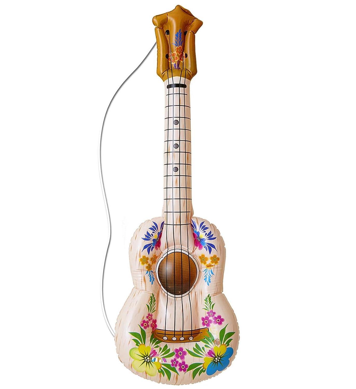 Hawaii - Guitarra - , 105 cm, hinchable: Amazon.es: Juguetes ...