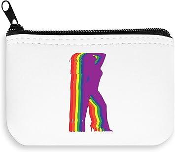 LGBT Lesbian Pride Gay Zipper Wallet Coin Pocket Purse Billetera ...