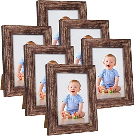 Sizes 4x6 5x7 8x8 8x10 11x14 12x16 16x20 20x24 24x36 Rustic Thick Gold Textured Picture Frame Custom Sizes