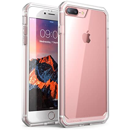 iPhone 8 Plus Case, SUPCASE Unicorn Beetle Series Premium Hybrid Protective Clear Case for Apple iPhone 7 Plus 2016 / iPhone 8 Plus 2017 Release ...
