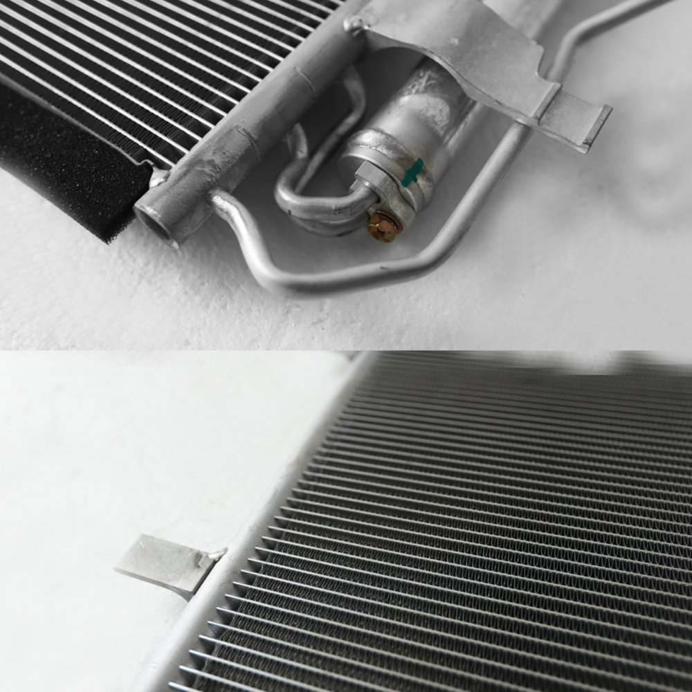 NEW 7-3866 Aluminum A//C AC Condenser Replacement For 2010-2013 Mazda 3 Sedan//Hatchback All Models