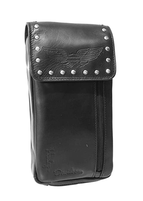 Amazon.com: Harley-Davidson - Monedero de piel para mujer ...