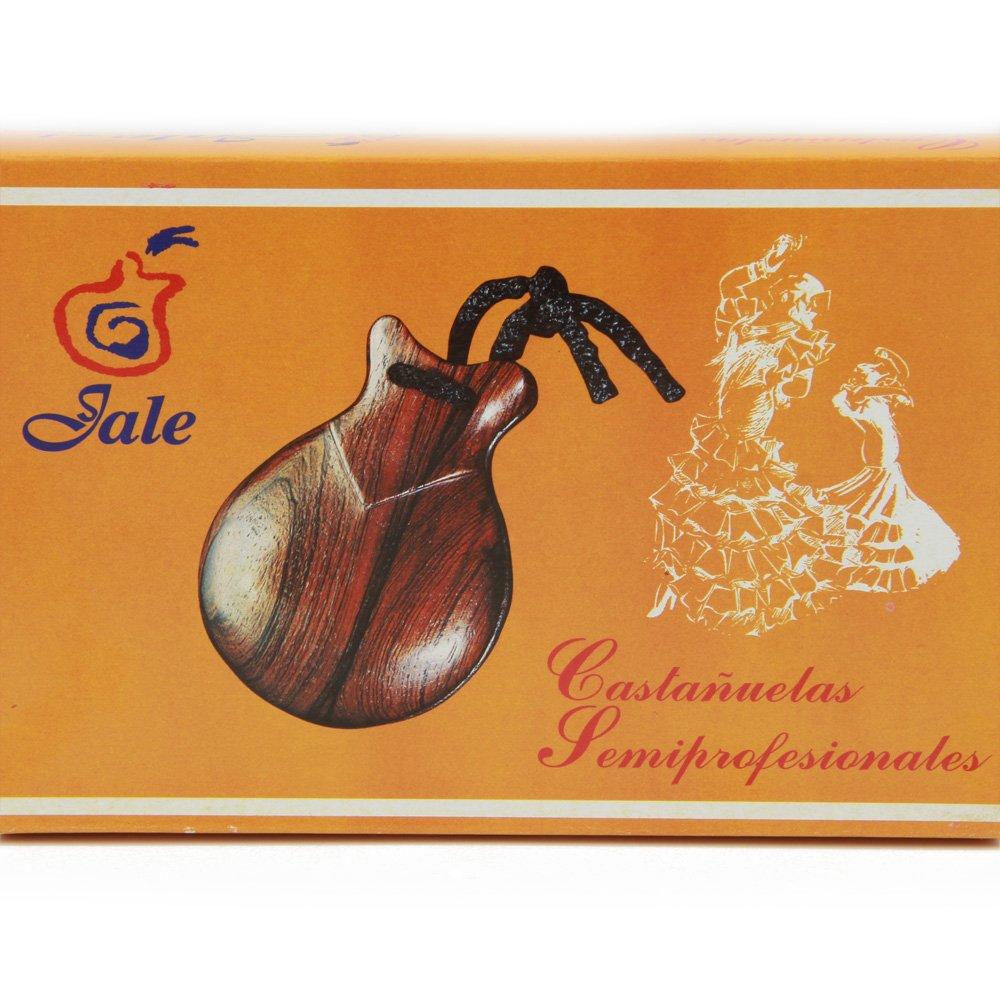 8 Semi-Professional Jale Spanish Flamenco Castanets Casta/ñuelas Bubinga Caoba Made In Spain Ref#108