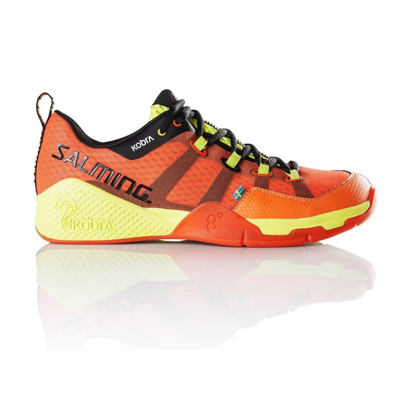 Salming Kobra Mens Squash Shoes (12.5, Magma Red/Black)