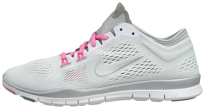 Nike Free 5.0 Tr Fit 4 629496 100 Damen Fitnesschuhe Weiß
