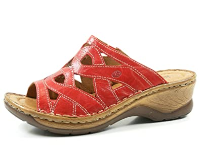 Josef Seibel 56508-61-400 Catalonia 44 Damen Schuhe Sandalen Pantoletten Clogs