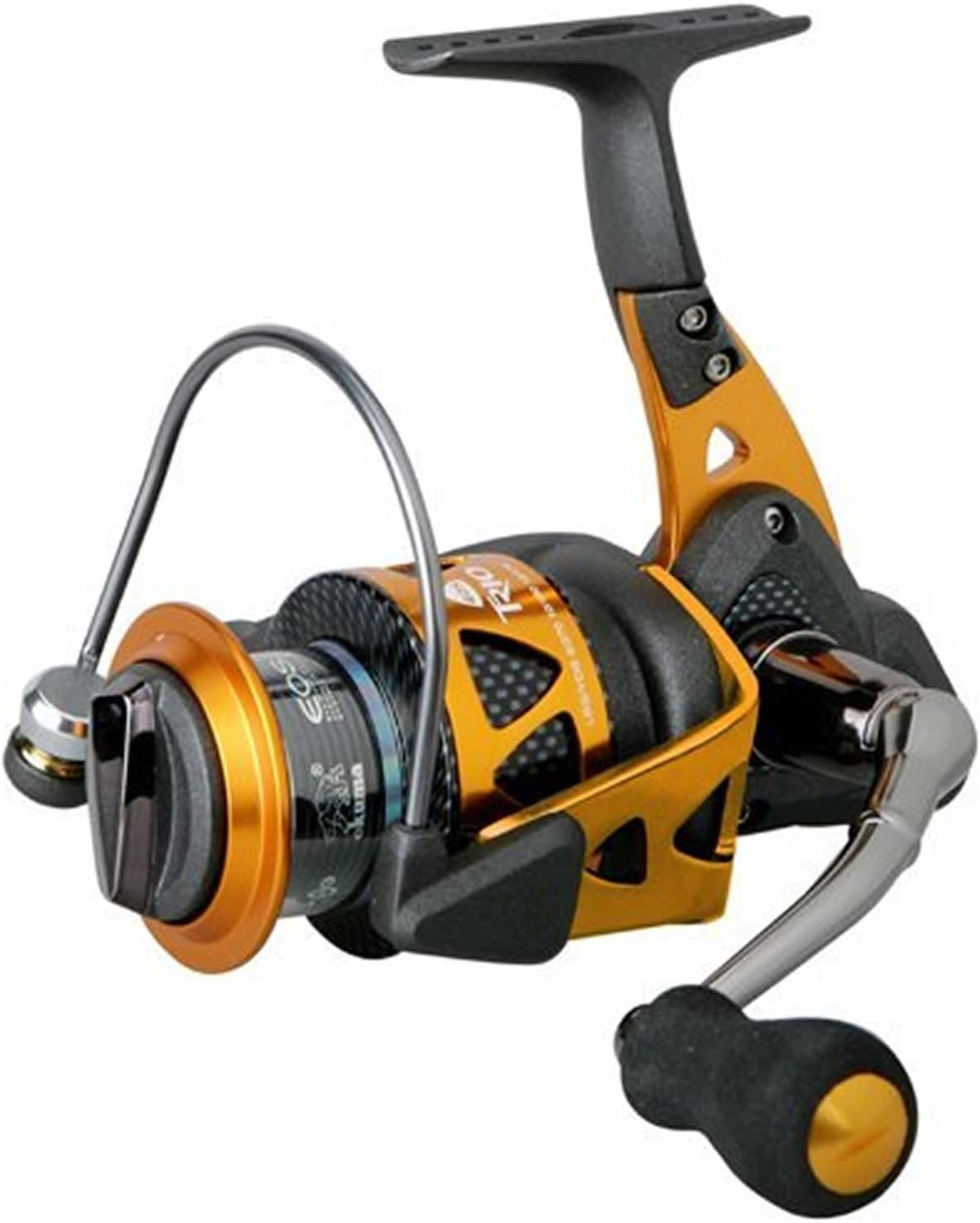 Okuma Trio High Speed Carrete Spinning de Pesca, Unisex Adulto ...