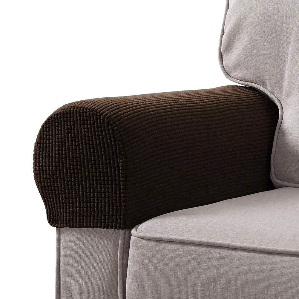 Armrest Cover armrests Cover Sofa Chair Protector Anti-Slip armrest Cover Double Sided tingtin