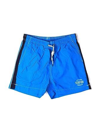 Key up 2H17X 0001 Traje de Bano Hombre Azul S: Amazon.es ...