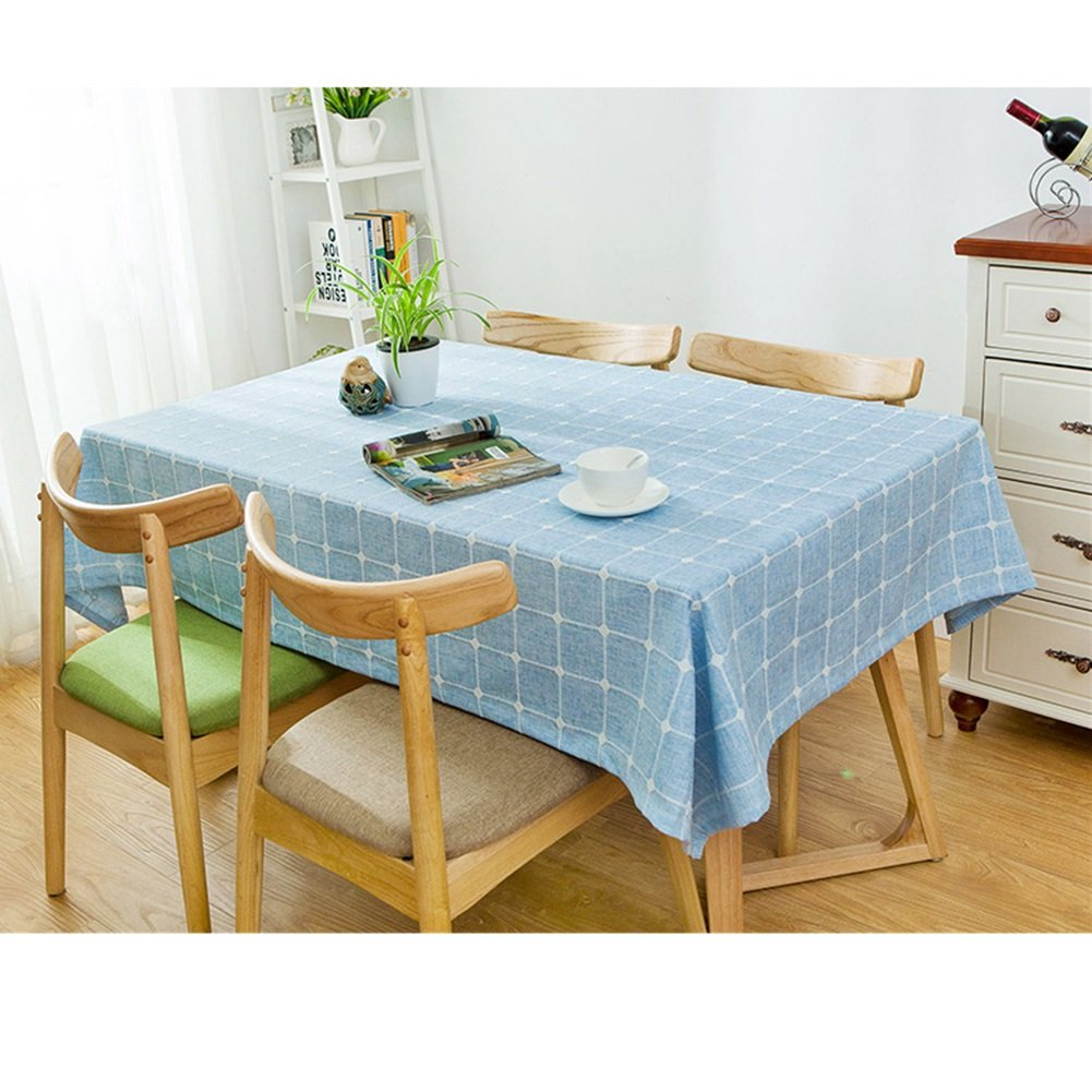 Maoge Maoge Maoge Home tischdecke,Vintage tischdecke,Stoff Baumwolle leinen.lÄndlichen Moderne Landschaft Lattice Edge teetisch sauber längliche tischdecke.mehrere Farben.grau-Grau 110x170cm(43x67inch) B076MHM76S Tischdecken 12fcdb