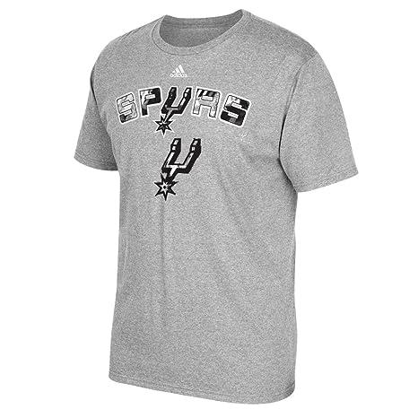 Adidas San Antonio Spurs NBA energía Marca Camiseta de Manga Corta para Hombre