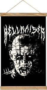 MJNHBG Hellraiser Canvas Poster Hanging Painting Wall Art Hippie Tapestry Indoor Decor for Home Dorm Office