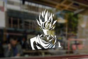 25 Centimeters Anime Z DBZ- Goku Vinyl Sticker Funny Decals Bumper Car Auto Laptop Wall Window Glass Snowboard Helmet MacBook Skateboard Guitar
