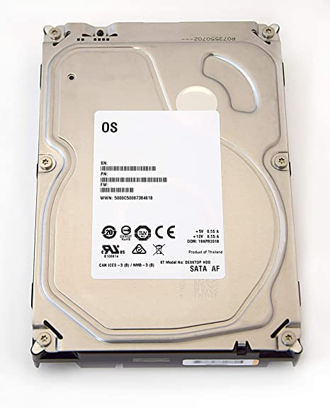 Seagate Barracuda/Desktop de HDD White Label – Disco Duro Interno ...