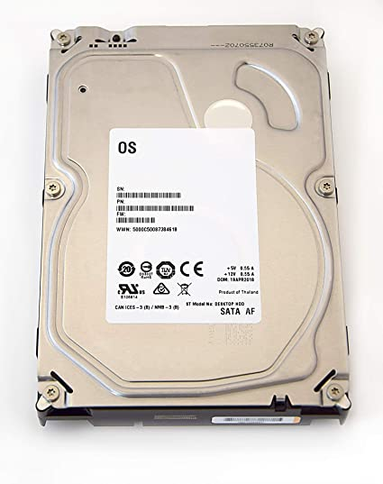 Seagate Barracuda/Desktop de HDD White Label – Disco Duro Interno 3,5 ""