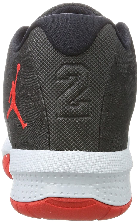d1231736d1a1 Nike Jungen Jordan B. Fly BG Basketballschuhe Schwarz (Black University  Red-Wolf Grey)