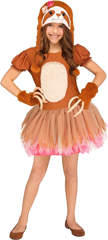 Sassy Sloth Girls Costume