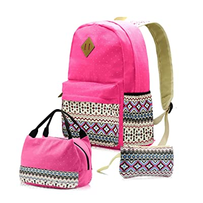 Personalized Backpack For Teen Girls Middle School - Separate Laptop Compartment: Clothing