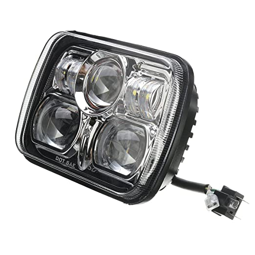 Alamor 5.7 Pulgadas x 7inch LED proyector Linterna HI/lo Beam ...