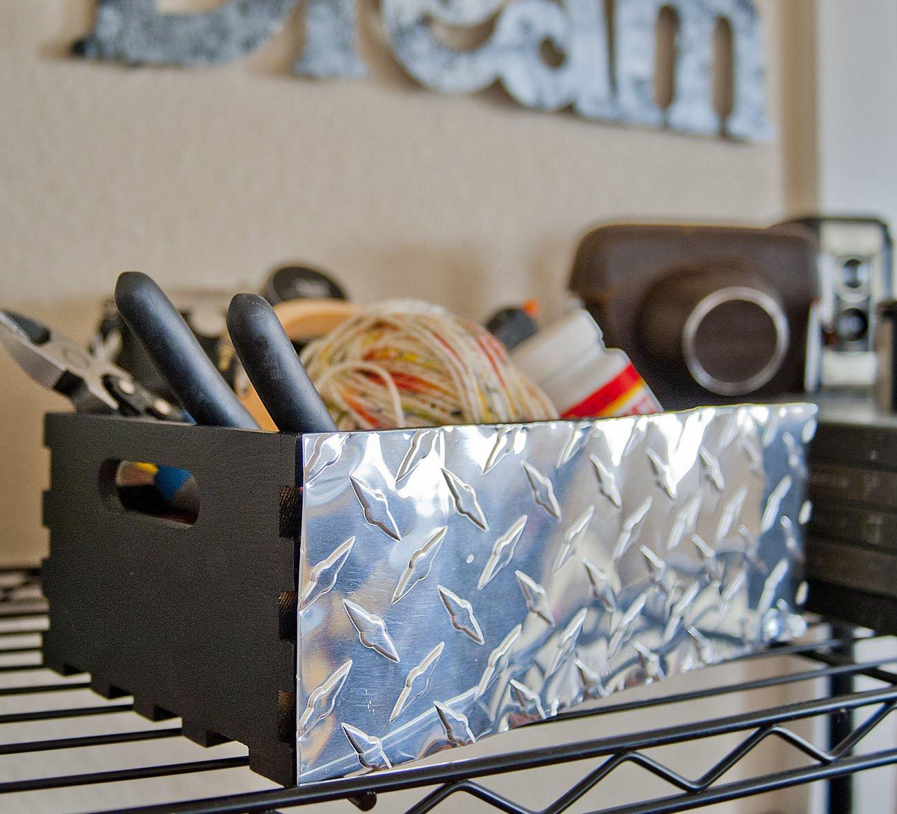 M-D Building Products 57320 Decorative Diamond Tread Aluminum Sheet