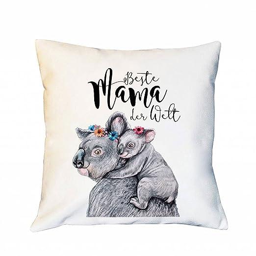 Ilka parey Mundial de Diseño Cojín Tuerca Día con Koalas de ...